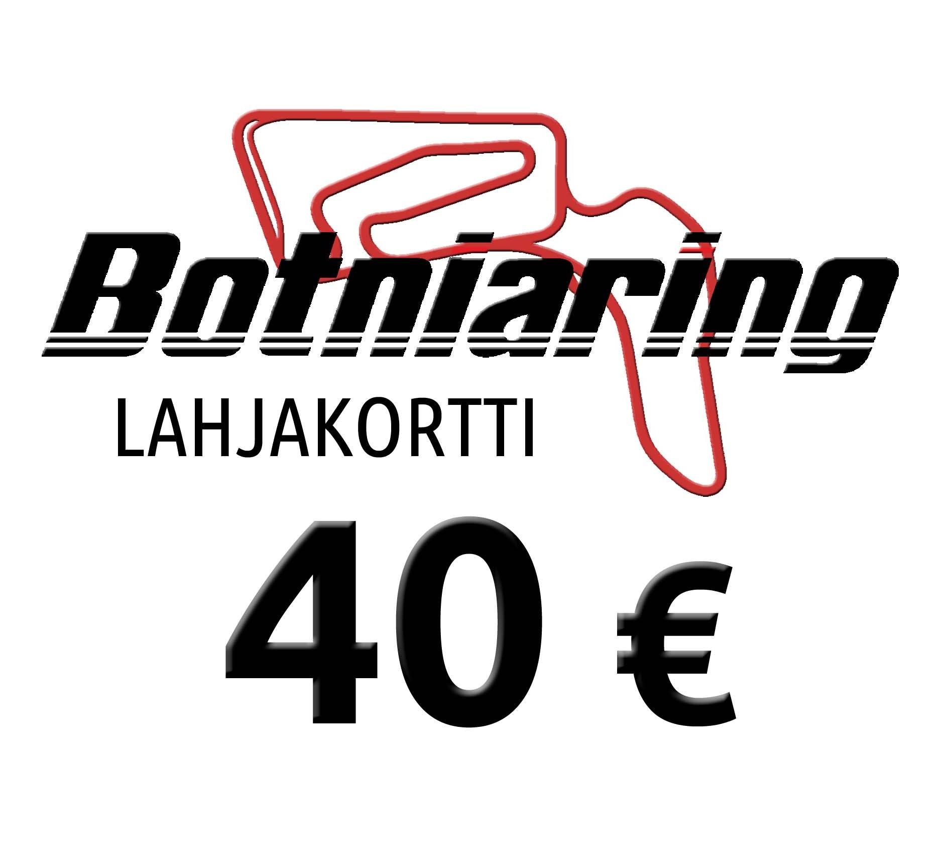 Lahjakortti 40€